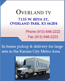 In-home pickup & delivery tv repair service